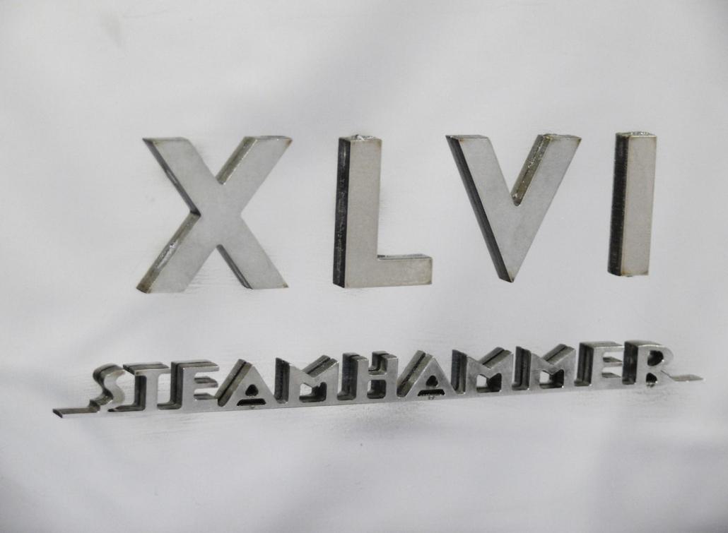 XLVI STEAMHAMMER LEVA