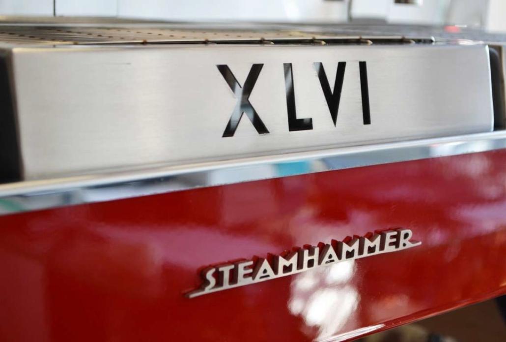 XLVI Steamhammer Rosso