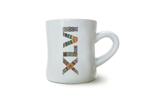 tazza bianca xlvi fantasia