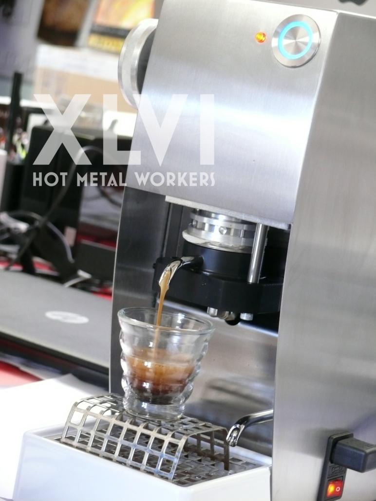 XLVI Interris, the new pods coffee machine