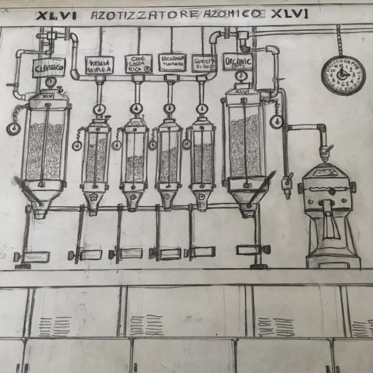 """XLVI project """"Azotizzatore"""""""
