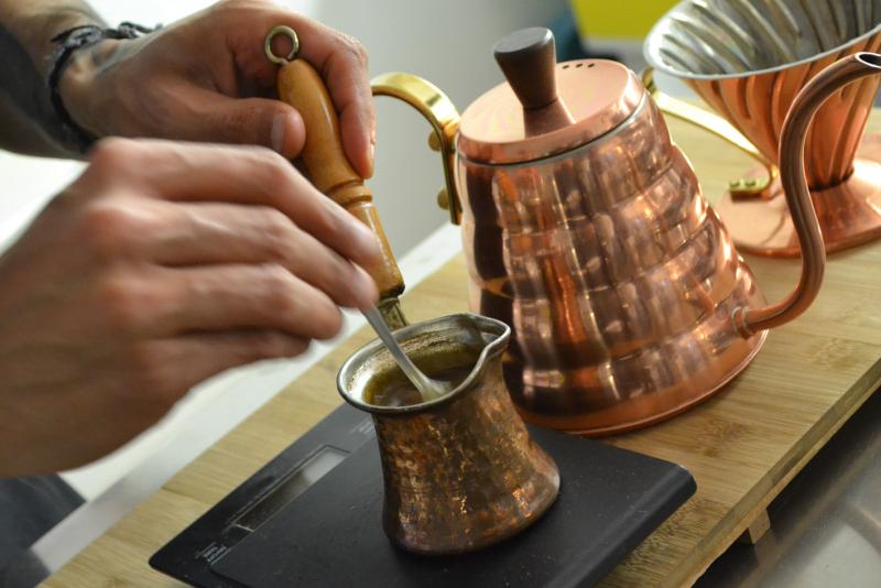 Caffe Turco Preparazione