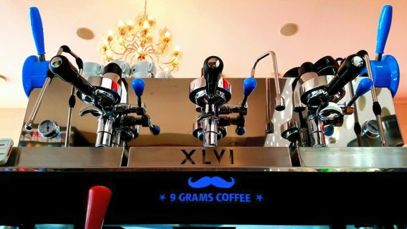 Blue XLVI Steamhammer coffee machine