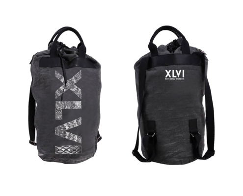 XLVI Grey Backpack Bag