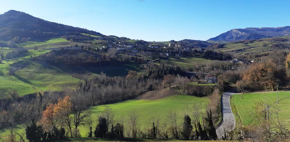 Monte Cerignone Marche Italia