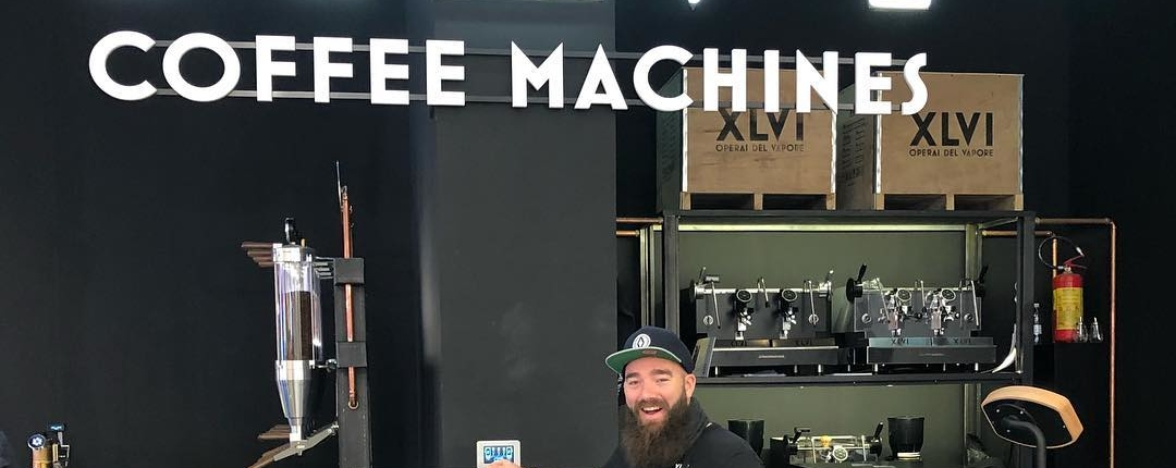 XLVI steam punk coffee maker Sigep 2019