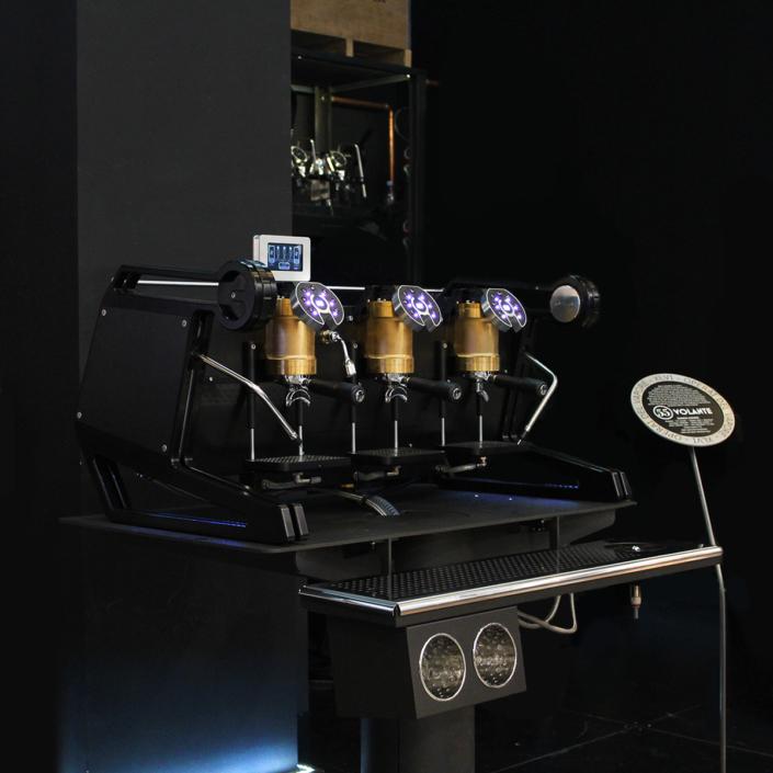 XLVI black coffee machine Sigep 2019