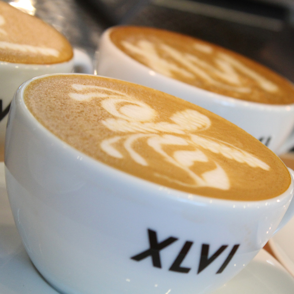 XLVI cappuccino coffee Sigep 2019