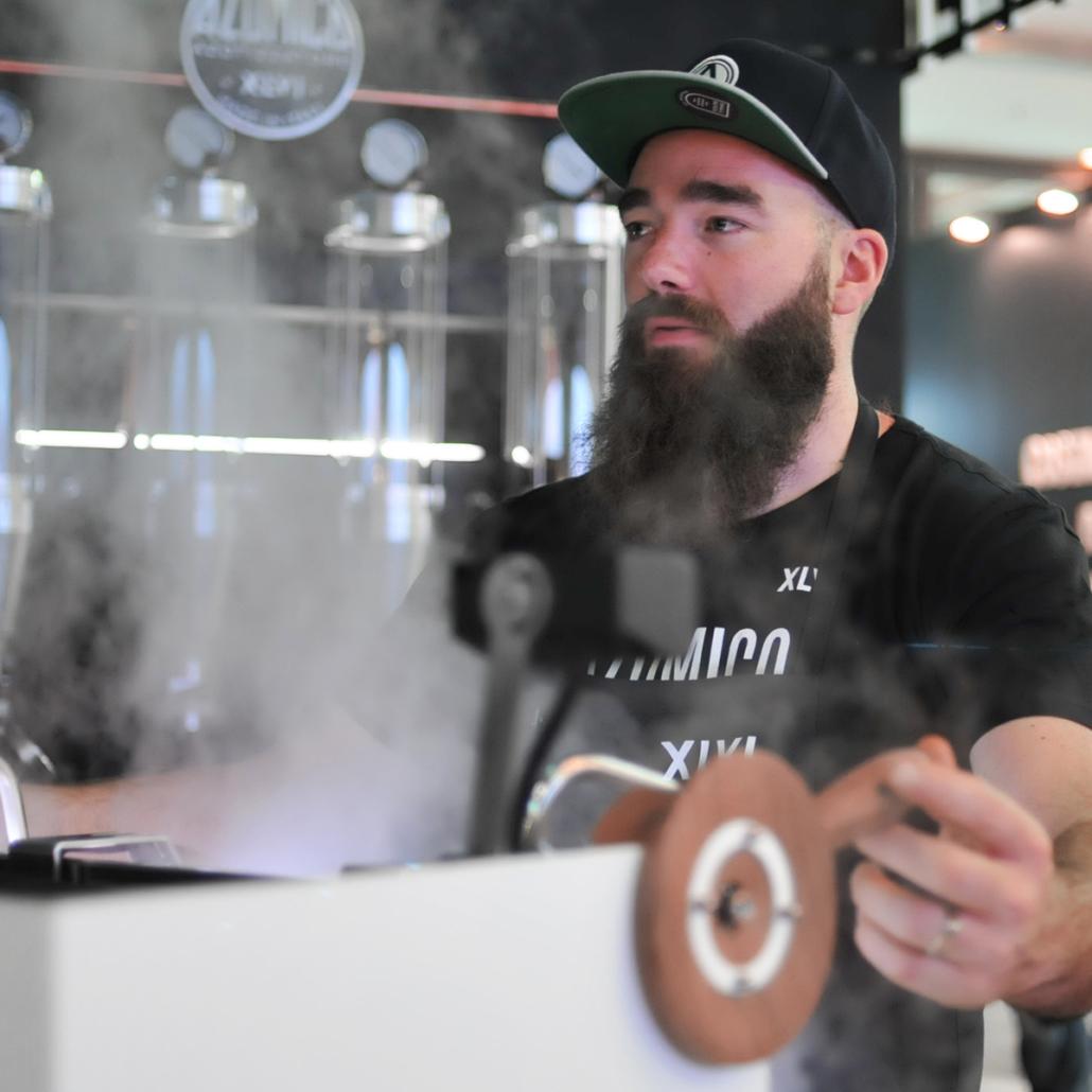 steam punk coffee maker Sigep 2019
